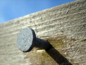 Nail On Wood